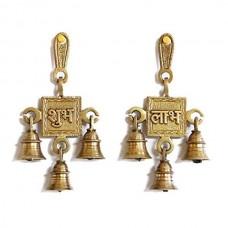 Shubh Labh Hanging Bells Set