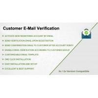 Customer E-Mail Verification for OpenCart 3x