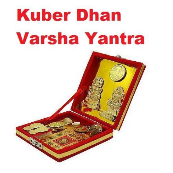 SHRI KUBER DHAN LAXMI VARSHA YANTRA Brass