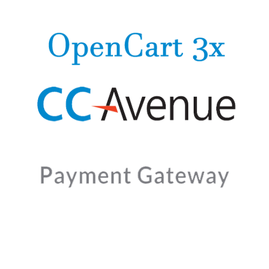 CCAvenue Payment gateway for opencart 3