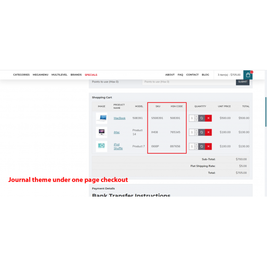 Product ID Plus for OpenCart3x