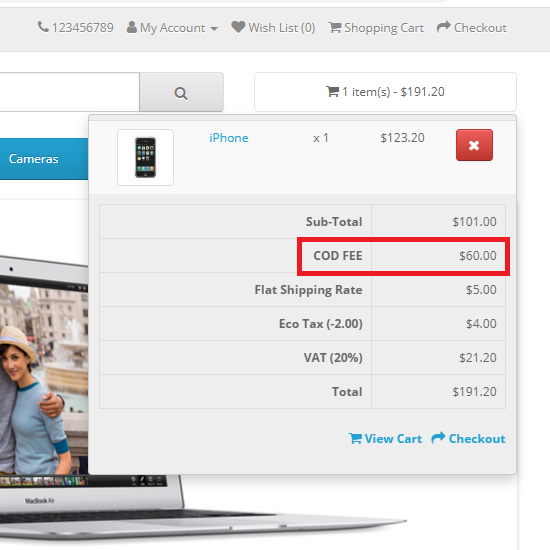 Payment Methods wise offers or fix Fee for OpenCart 3.0.3.x.ocmod