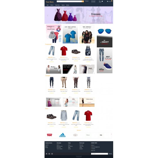 Amazon Theme for OpenCart 3x
