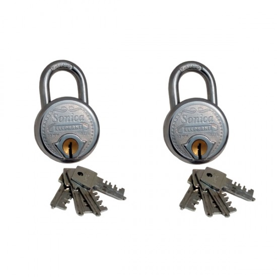 Sonica Double Locking 67 Mm – 10 Levers With 4 Keys