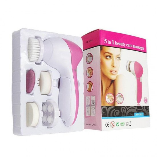 5-In-1 Smoothing Body Face Beauty Care Facial Massager
