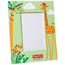 """FIsher Price Picture / Photo Frame Color Giraffe - Light Green, 4"""" x 6"""""""