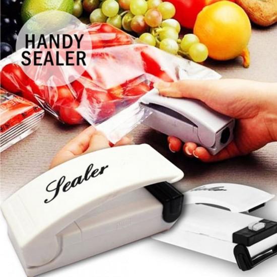 Mini Portable Super Sealer Handy Plastic Bag Sealer Sealing Machine