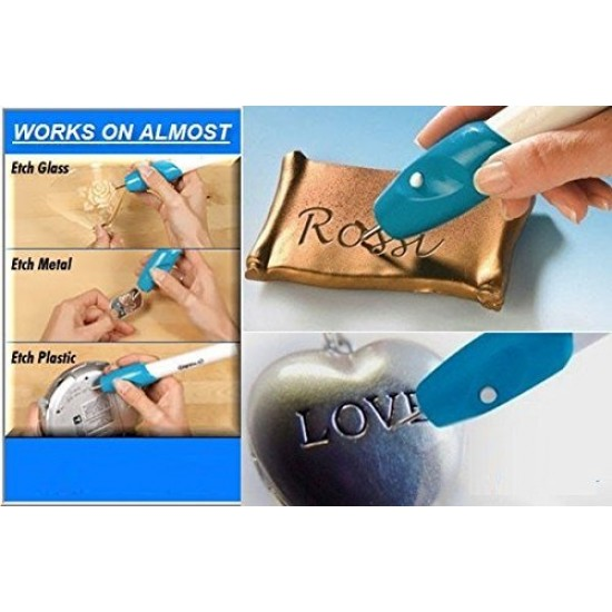 BALAsons Engraving Pen for Glass I Steel I Wood I Plastic Any Surface