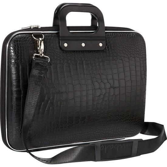 Laptop Bag 15.6 inch Crocodile Design